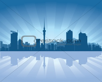 Auckland, New Zealand skyline