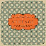 Polka dot design, vintage styled background.