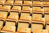 empty stadium seat