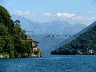 On Lake Lugano