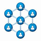 social network symbol