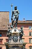 Fountain of Neptune. Bologna. Emilia-Romagna. Italy.