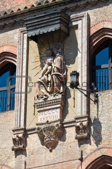 Accursio Palace. Bologna. Emilia-Romagna. Italy.