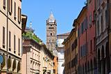 View of Bologna. Emilia-Romagna. Italy.