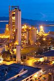 Cement Plant,Concrete or cement factory, heavy industry or construction industry.