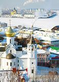 February view of Church Kazan Icon of the Mother of God Nizhny N