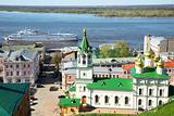Spring in Nizhny Novgorod Russia