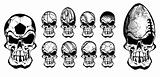 ball skulls