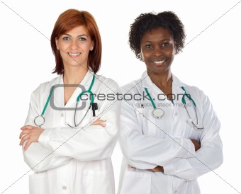 Women&#39;s team of doctors 