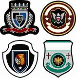 classic badge shield collection