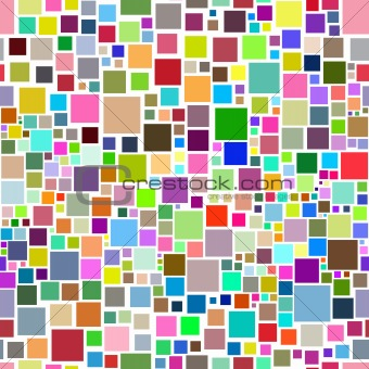 Abstract seamless squares