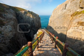 Top Steps Suicide Cliff Dongyin