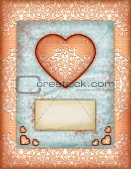 Valentine day Love Cards, Vintage Love Notes