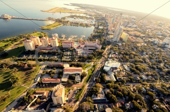 St. Pete Aerial View