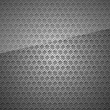 Metal surface, dark gray background perforated sheet