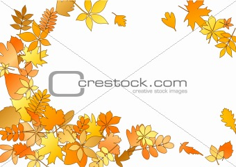 Autumnal frame with different colourful leaves_2(43).jpg