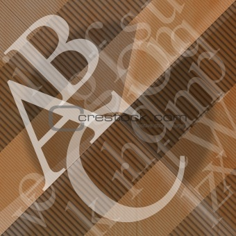 ABC Abstract Background