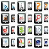 touchscreen device icons