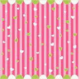 cute seamless pattern with little hearts