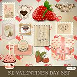 St. Valentine's day set