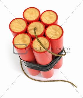 explosive dynamite sticks