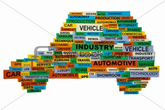 words describing the automotive industry