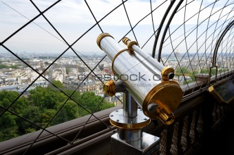 Binoculars in Paris