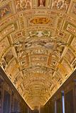 geographical  maps Gallery in Papal Palace in Vatican