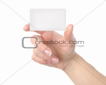 Card isolated