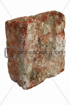Old broken brick