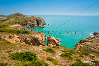 Cliffs Seascape Matsu Island