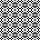 Seamless pattern with fancy design.