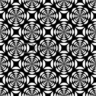 Seamless pop art pattern.