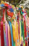 Ukrainian traditiona wreath