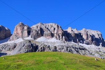 Pordoi pass, Trentino, Italy