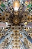 Sagrada familia&#39;s roof in Barselona