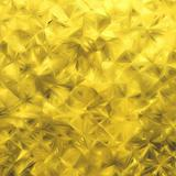 Yellow glitter background. EPS 8