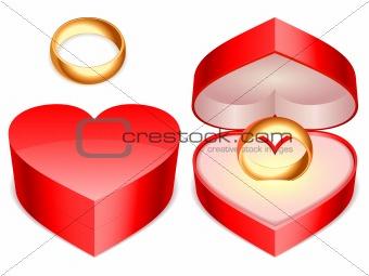 Ring box.