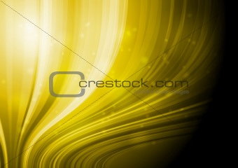 Yellow elegant waves
