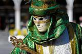 Venetian carnival costume