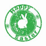 easter greetings stamp