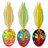 mardi gras venetian masks