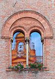 Governor's palace. Cento. Emilia-Romagna. Italy.