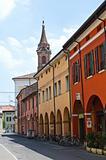 Alleyway. Cento. Emilia-Romagna. Italy.