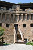 Fortress Rocca Stellata. Bondeno. Emilia-Romagna. Italy.