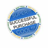 Successful purchase icon