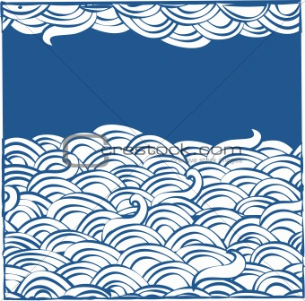 abstract background with clouds