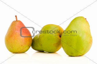 Three Belgian pears