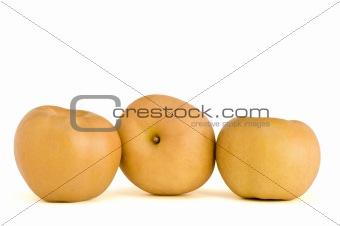three Canadian apples