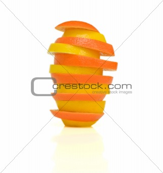 Tower of citrus